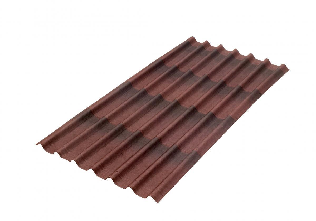 Imitation Tile Panels For A Bitumen Roof Covering